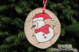 customized decoration unique tree ornaments set of 3