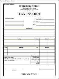 tax invoice templates 15 free word excel pdf format download tax