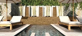 decor u0026 tips backyard with stacked stone siding panels by msi