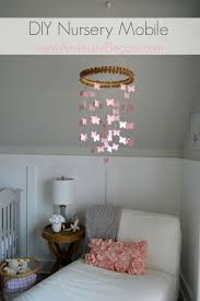 Pottery Barn Kids Chandelier by Aimlessly Elegant Nursery Diy Mobile