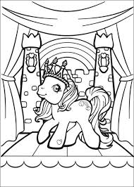 my little pony coloring pages free for kids pinterest pony