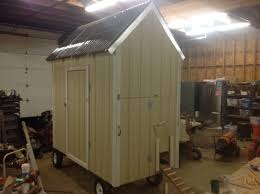 portable chicken coop with egg catcher backyard chickens