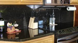 Backsplash Tile Granite  Backsplashes With Black Granite  Home - Backsplash for black granite