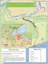 Boundary Waters Map Voyageur Canoe Outfitters Location