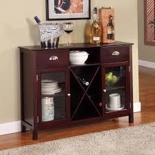 furniture of america vera contemporary multi storage buffet table