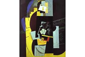 Picasso Still Life With Chair Caning 1912 Explaining The Synthetic Cubism Widewalls