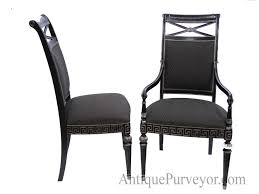 high end dining room furniture brands furniture high end dining chairs luxury black silver painted