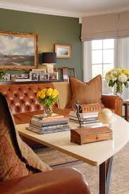 Traditional Living Room Ideas With Leather Sofas Best  Leather - Leather family room furniture