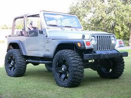 badass blue jeep all jeeps with rockstar wheels jeepforum com