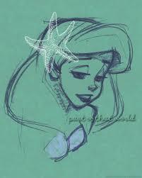 88 mermaid images disney drawings