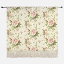 Shabby Chic Floral Curtains by Floral Shabby Chic Window Curtains U0026 Drapes Floral Shabby Chic