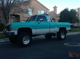 Classic Chevy Trucks Models - chevy silverado square body 4x4 old 3