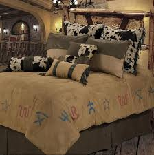 Cowboy Bed Sets Buckskin Brands Comforter Set Cabin Place