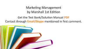 practice test bank for marketing management by marshall 1st