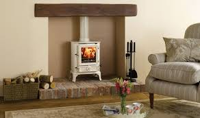 wood burning and gas stoves at the stove shop they design inside