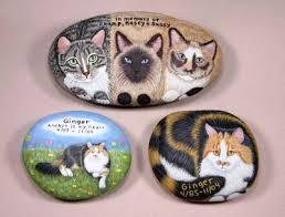 memorial rocks pet memorials your pet painted on a rock or