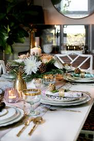 christmas table setting images how to create a glam christmas table setting on a budget swoon worthy