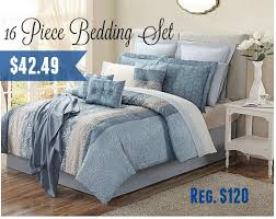 Kmart Comforter Sets Kmart 42 49 Bedford 16 Pc Bedding Sets Any Size 120 Value