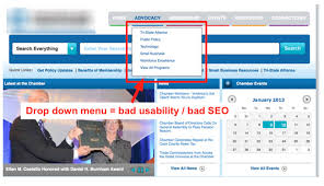website menu design are you these common website navigation mistakes