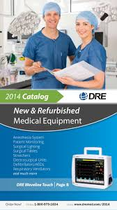 dre new u0026 refurbished medical equipment 2014 catalog