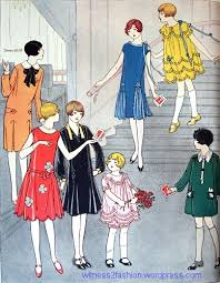 butterick 6478 dress for 8 to 15 from 1926 twenties 1920s