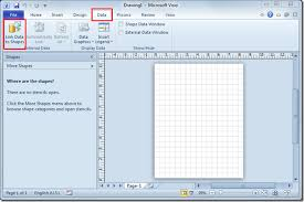 create diagrams in ms visio 2010 by linking excel spreadsheet