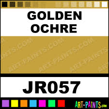 golden ochre artists oil paints jr057 golden ochre paint