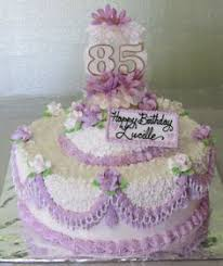 pretty 85th birthday cake for mom celebrate good times