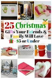 25 christmas gifts your friends and family will love 5 or under