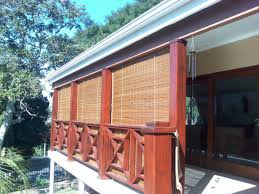 bamboo shades on front porch exterior google search garden and