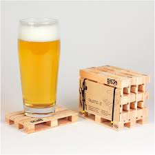 mini wooden pallet coasters u2013 happy deals bazaar