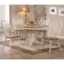White Round Kitchen Table Set Antique White Round Dining Table Set Starrkingschool