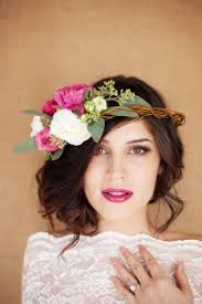flower headpiece destination weddings garden party