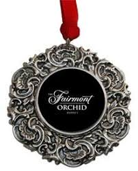 christmas ornament with hotelmonteleone crest designed by