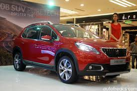 what car peugeot 2008 nasim officiates updated 2017 peugeot 2008 priced from rm109 888