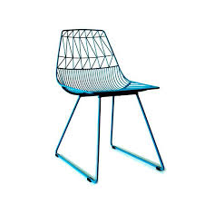 Peacock Blue Chair Bend Seating Lucy Side Dining Chair Vertigo Home