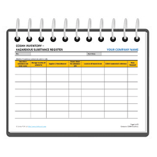 Controlled Substance Log Sheet Template Coshh Register Template Free Darley Pcm
