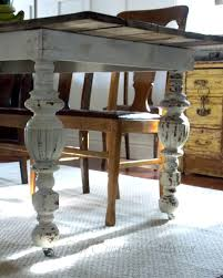 antique inspired dining table the curators collection