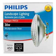 Landscape Lighting Cost by Philips 415257 Landscape Lighting 36 Watt Par36 Flood Light 12
