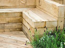How To Build A Garden Bench Landscape Timbers Hgtv