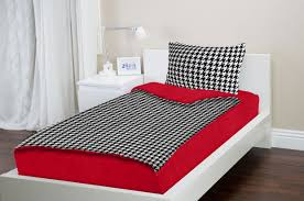 Houndstooth Comforter Zipit Bedding Set Zip Up Your Sheets And Comforter Like A
