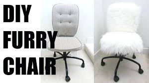 faux fur desk chair faux fur task chair justinbradleyforsc com