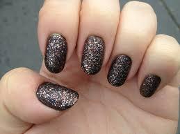 julep black multi color glitter nail naily