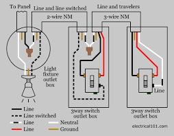 multiple lights wiring diagram 3 wire switch diagram 3 switches