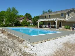 Poured Concrete Home by Vinyl Liner Pool Construction U0026 Installation Process Penguin Pools