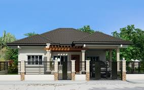 one story house bungalow single story house plans home plans