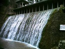 india travel pictures water fall in rock garden chandigarh