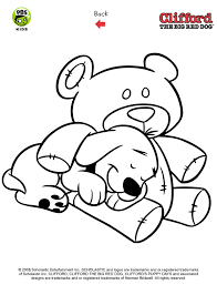 clifford puppy coloring pages coloring