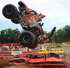 monster truck shows in indiana fans examine trucks up close during monster jam pit party at