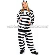 Halloween Costumes Fat Girls Fancy Dress Costume Size Fat Women Costume Prisoner